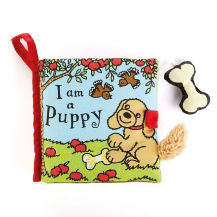 Jellycat I am a Puppy Book